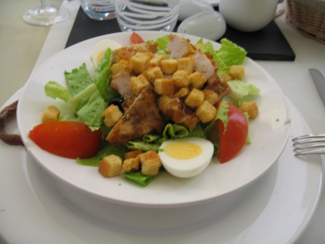 Lunch in Versailles
