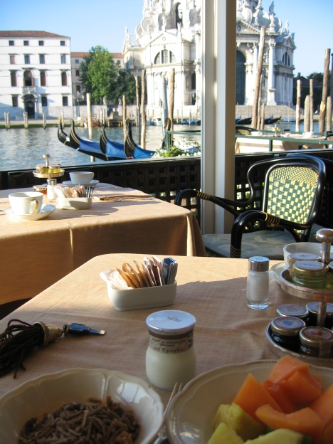 Venice Breakfast view