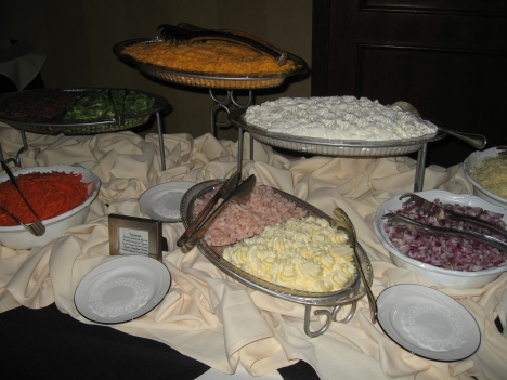 Mashed Potato Topping Bar